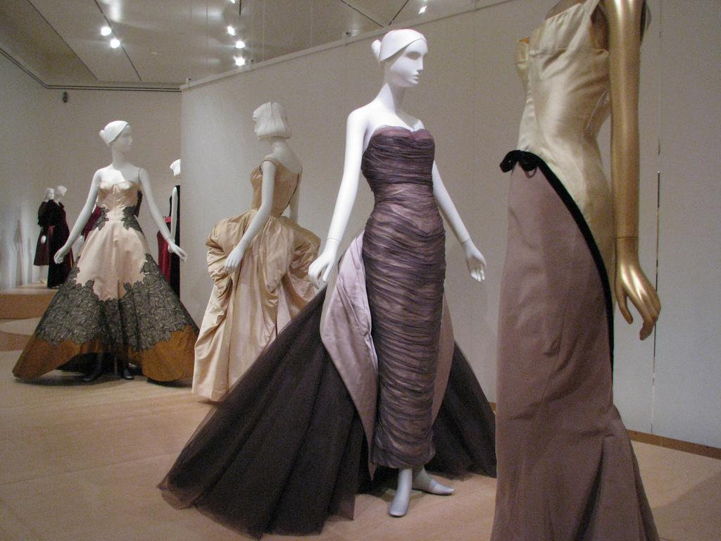 Various Charles James gowns  Photo from C-Monster via Flickr under Creative Common license