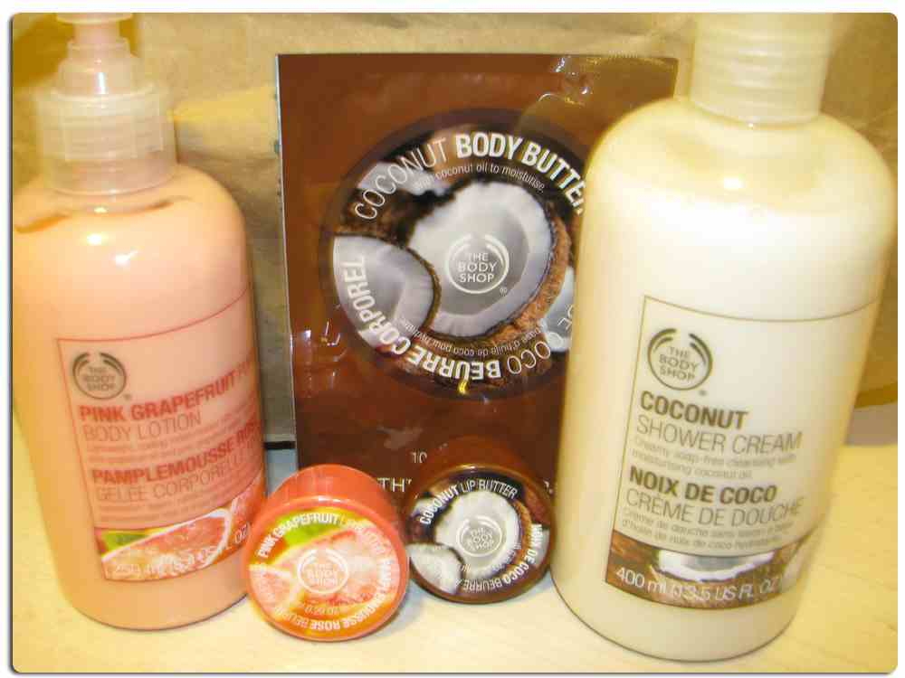 The Body Shop has many great gift sets to buy! Photo via Flickr under Creative Commons license
