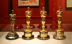 These beautiful Oscar awards recognized some of the best in the film industry Photo from Cliff via Flickr under Creative Commons license