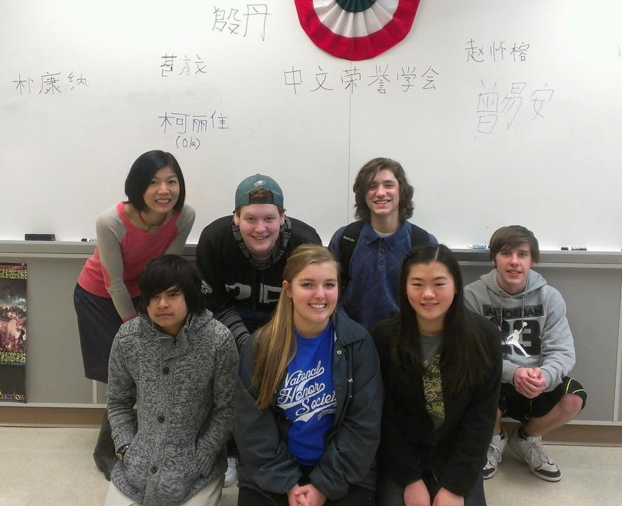 The Chinese Honor Society has a lot of fun exploring different aspects of Chinese culture.