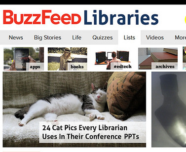 Buzzfeed has risen to high popularity in the past year. Photo by Ned Potter via Flickr under Creative Commons license.