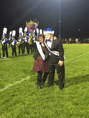 CB South Homecoming King and Queen: Nick McGee and Lily Bowman
