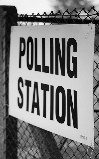 Be sure to check for your polling place! Photo from Martin Bamford via Flickr under Creative Commons license