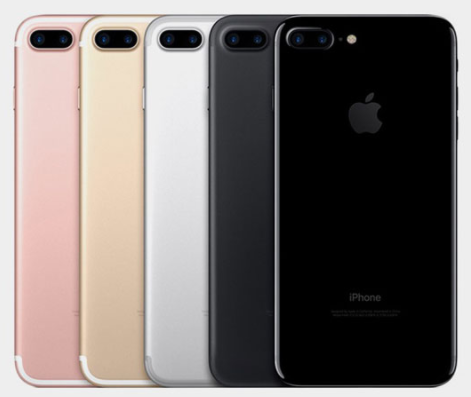 The popular iPhone 7 in an array of colors