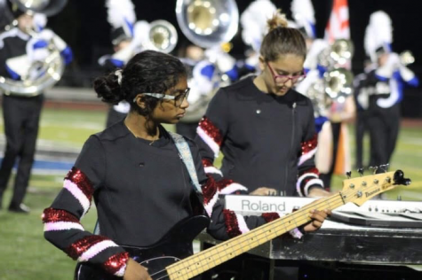 A Sophomore Marching Titan's First Home Show