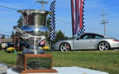 Warrington Motorsport Family Honored with Historic Plaque